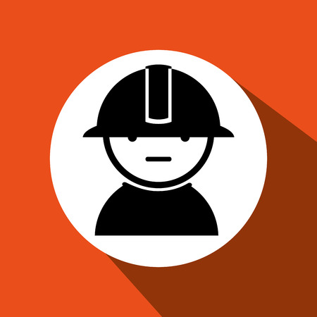 industrial worker: industrial worker design, vector illustration eps10 graphic