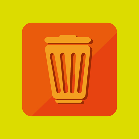 application recycle: button mobile application design, vector illustration eps10 graphic