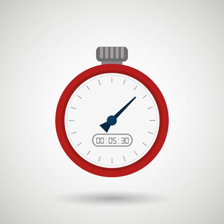 chronometer: chronometer icons design, vector illustration eps10 graphic