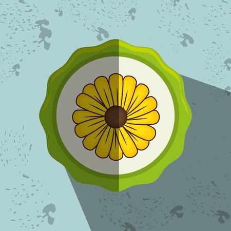 beatiful: beatiful flower design, vector illustration eps10 graphic Illustration