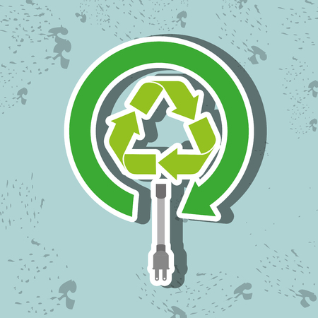 alternative energy sources: Alternative energy design, vector illustration eps10 graphic Illustration