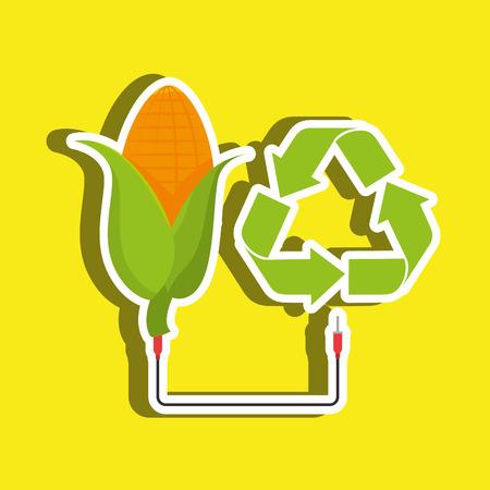 alternative: Alternative energy design, vector illustration eps10 graphic Illustration