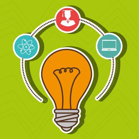 academic achievement: academic student design, vector illustration graphic