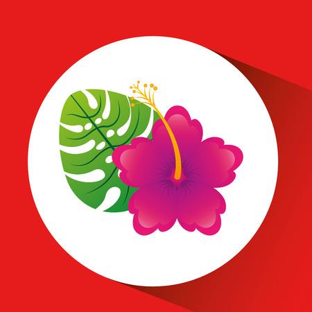 floral decoration: floral decoration design, vector illustration eps10 graphic