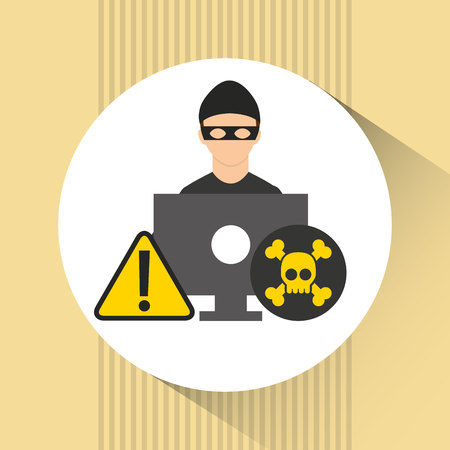 infections: software infections design, vector illustration graphic Illustration
