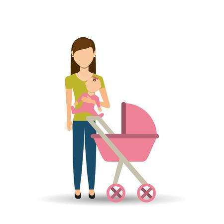 family members: family members design, vector illustration eps10 graphic