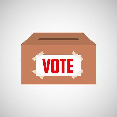 Election Day design, vecteur illustration graphique eps10