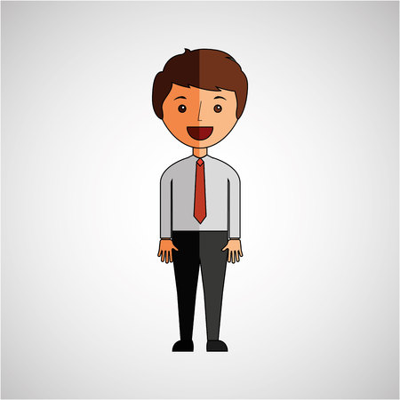 avatar: business person avatar design, vector illustration eps10 graphic