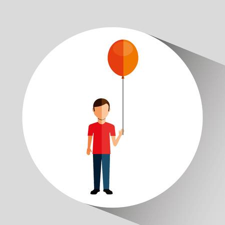 little child: happy kids design, vector illustration eps10 graphic Illustration