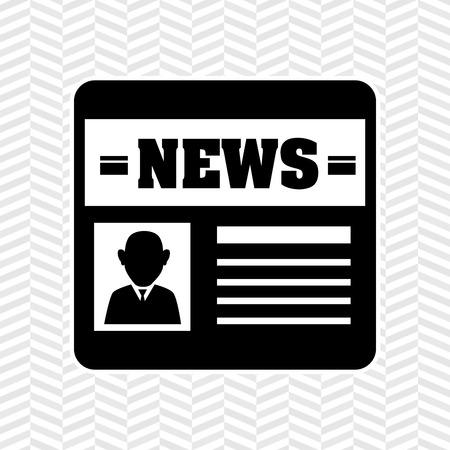 urgent announcement: breaking news  design, vector illustration eps10 graphic Illustration