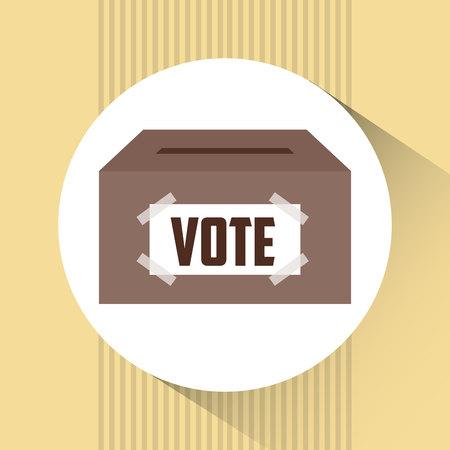 urn: Election Day design, vector illustration eps10 graphic