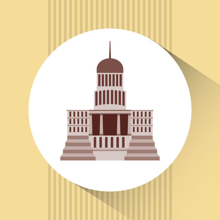 senate: capitol building design, vector illustration eps10 graphic