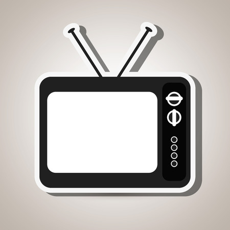tv retro: tv retro design, vector illustration eps10 graphic