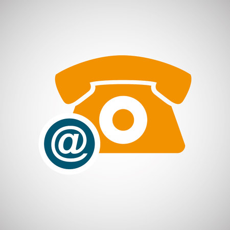 telemarketer: call center design, vector illustration eps10 graphic