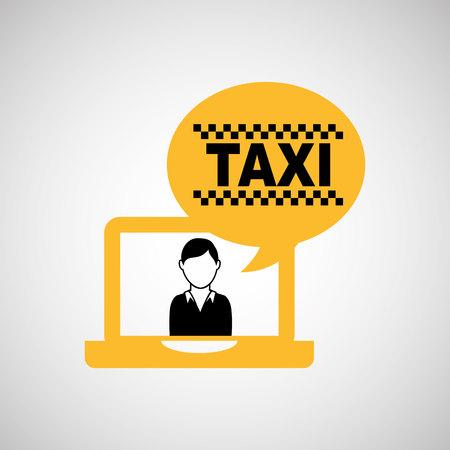 public services: taxi service design, vector illustration eps10 graphic