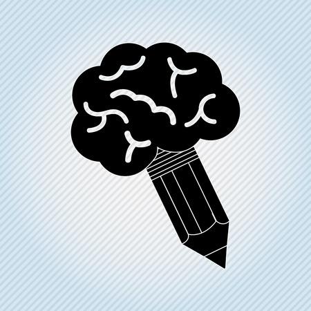 study icon: school icon design, vector illustration eps10 graphic Illustration