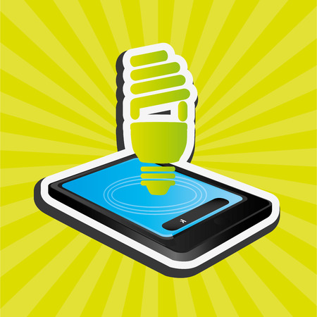 communicator: smartphone services design, vector illustration eps10 graphic