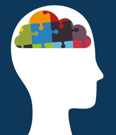 brain illustration: brain storming design, vector illustration eps10 graphic