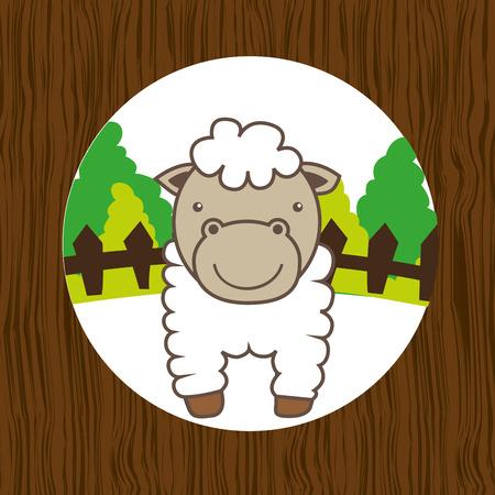 animal farm design, vector illustration eps10 graphic