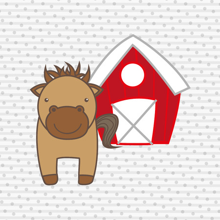 stables: animal farm design, vector illustration eps10 graphic