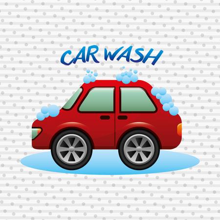 auto washing: car wash design, vector illustration eps10 graphic