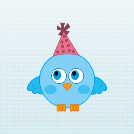 flying hat: cute animal design, vector illustration eps10 graphic