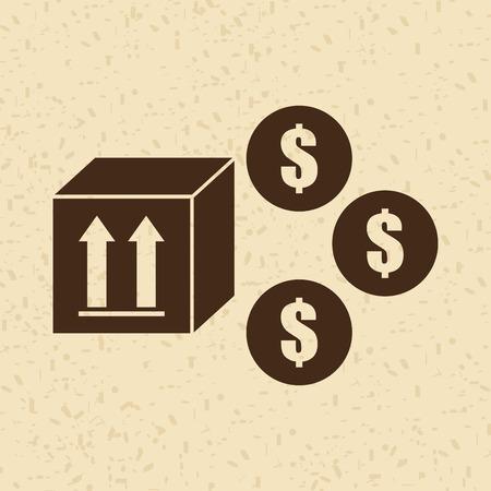 commodity: money concept  design, vector illustration eps10 graphic Illustration