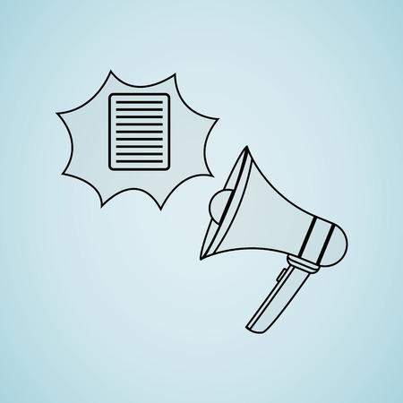 disclosure: breaking news design, vector illustration eps10 graphic