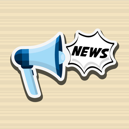 important: breaking news design, vector illustration eps10 graphic