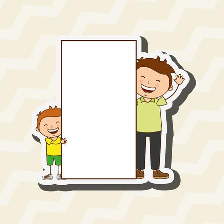 happy family: happy family design, vector illustration eps10 graphic