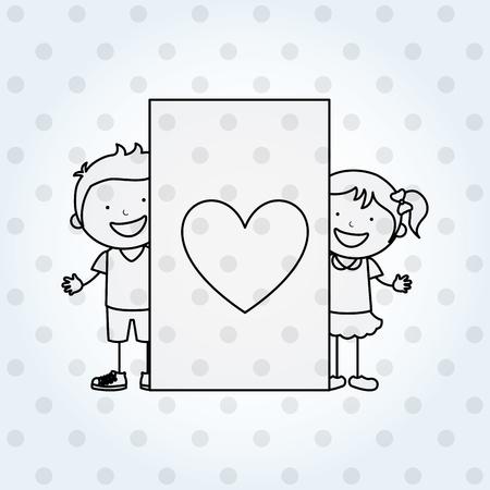 happy family design, vector illustration eps10 graphic