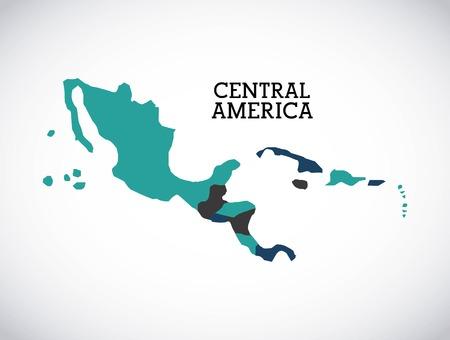 central america: central america design, vector illustration eps10 graphic Illustration