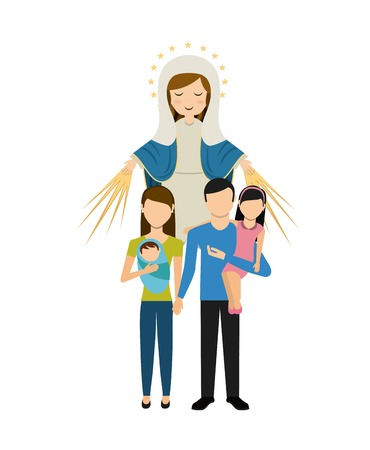 Catolic 宗教デザイン、ベクトル図 eps10 グラフィック  イラスト・ベクター素材