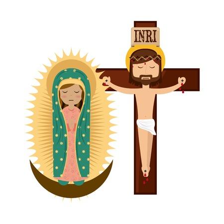 catolic: Catolic religion design, vector illustration eps10 graphic