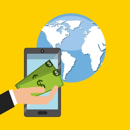 global economy: global economy design, vector illustration eps10 graphic Illustration