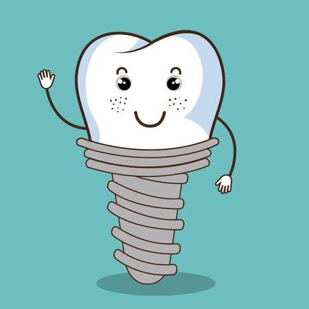 care: dental care  design, vector illustration eps10 graphic Illustration