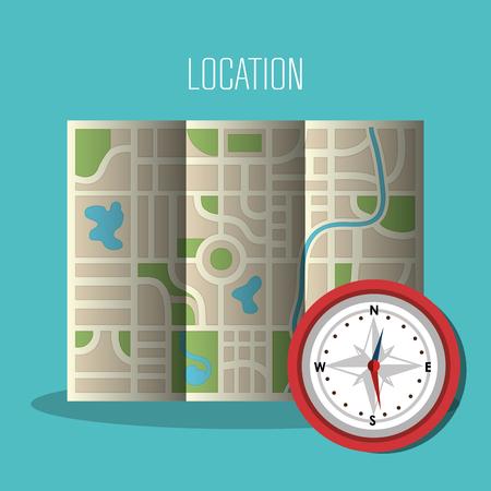 gps navigation: GPS navigation design, vector illustration eps10 graphic Illustration