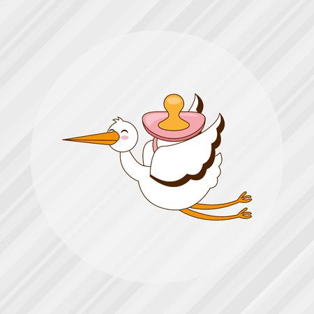 bébé douche design icône, vecteur illustration graphique eps10