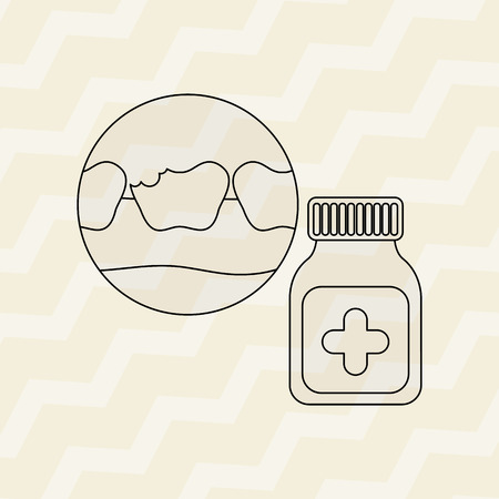 dental health: dental health care design, vector illustration eps10 graphic
