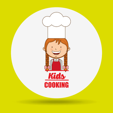 Child Cooking Clipart