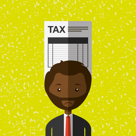 tax time: tax time design, vector illustration  graphic Illustration