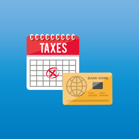 irs: tax time design, vector illustration  graphic Illustration