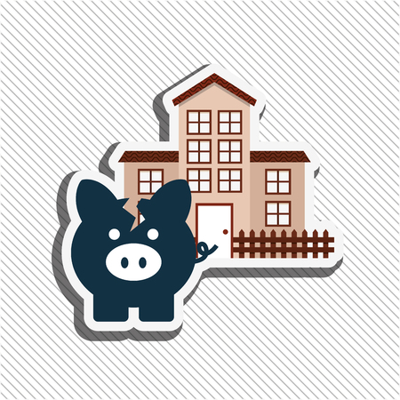 invest: invest savings design, vector illustration eps10 graphic Stock Photo