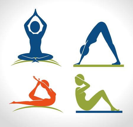 healthy sport: wellness healthy style  design, vector illustration eps10 graphic Illustration