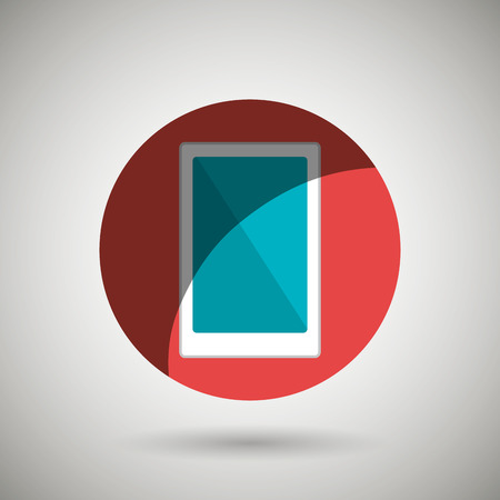 smartphone icon: smartphone icon design, vector illustration eps10 graphic Illustration
