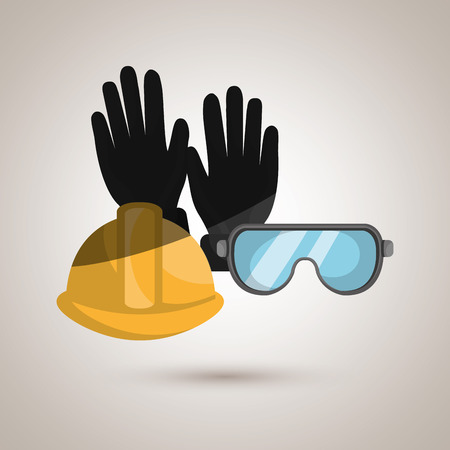 coverall: safety equipment design, vector illustration eps10 graphic