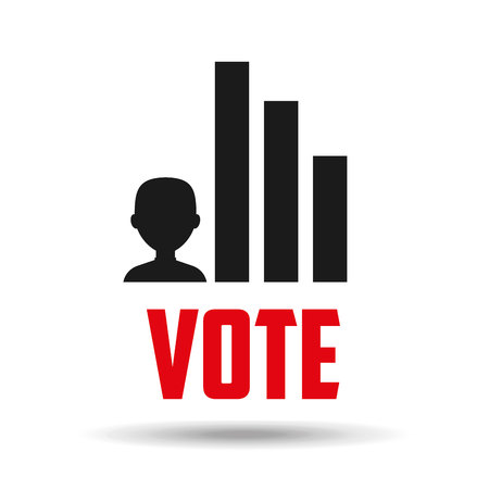 election day: election day design, vector illustration eps10 graphic Illustration