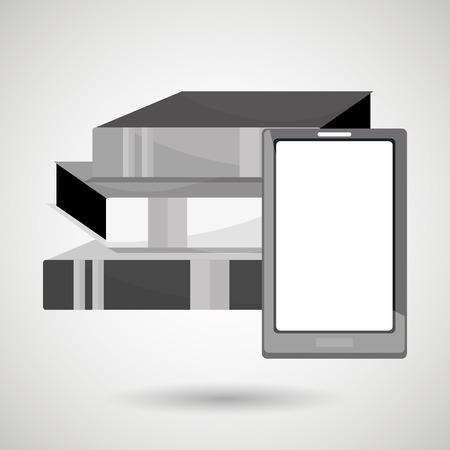 e magazine: electronic book design, vector illustration eps10 graphic