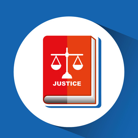 punishing: justice system concept design, vector illustration eps10 graphic