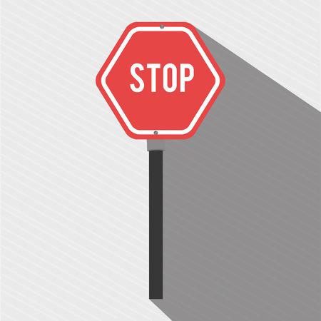 roadway: road sign design, vector illustration eps10 graphic Illustration
